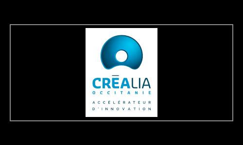 Logo crealia  - partenaire de U-Space